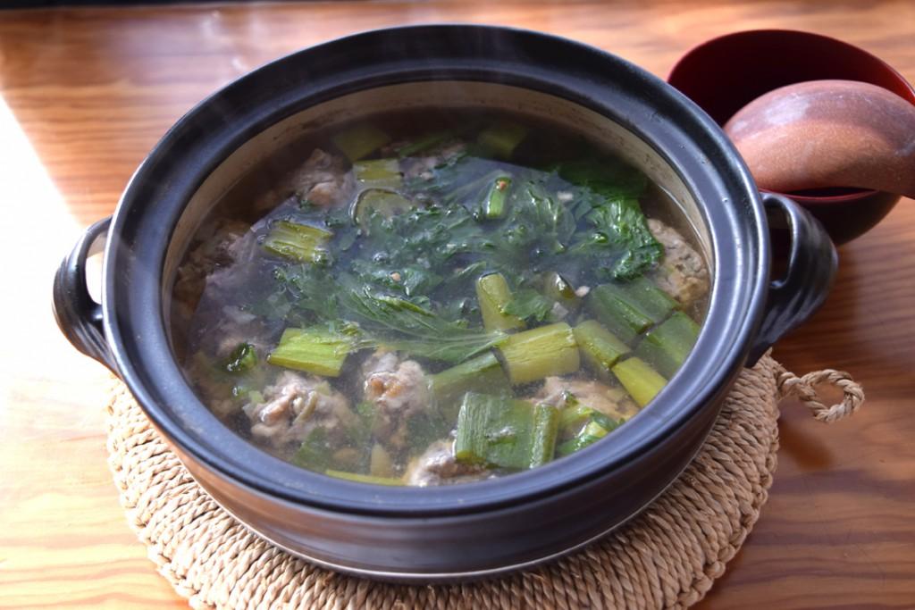 いわし団子鍋