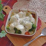 豆腐ホワイトソースの野菜グラタン