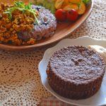 3月料理教室「小麦粉不使用!生おからのチョコケーキ」
