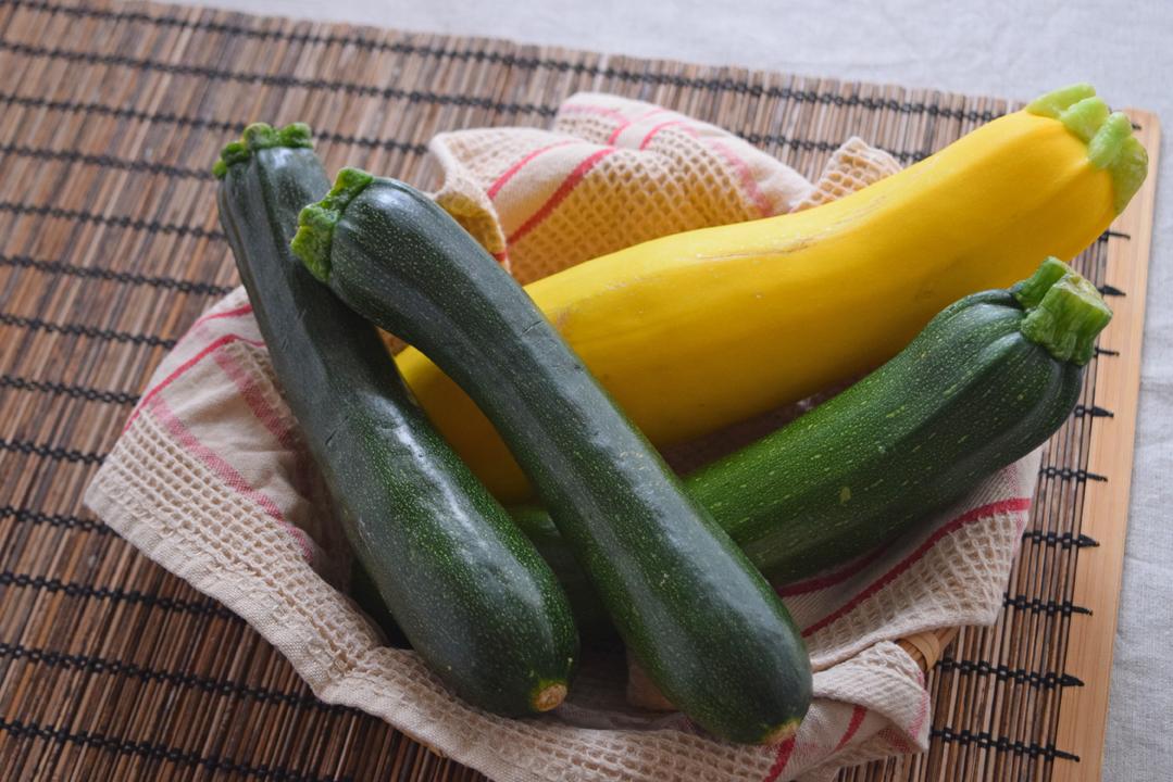 ズッキーニの栄養・選び方・保存方法