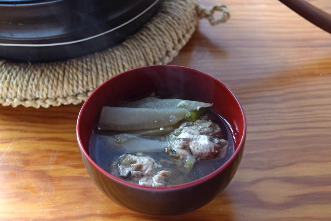 いわし団子の鍋