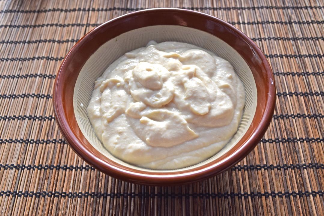 豆腐のホワイトソース