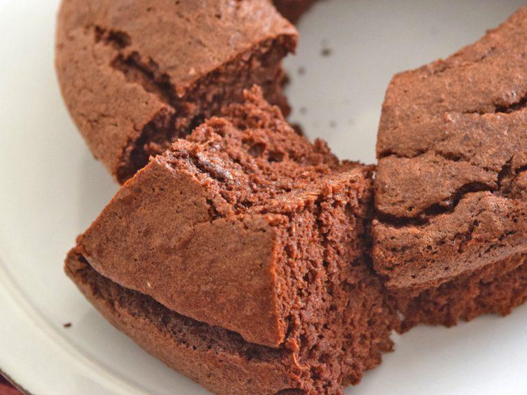 小麦粉不要!生おからで作るチョコケーキ