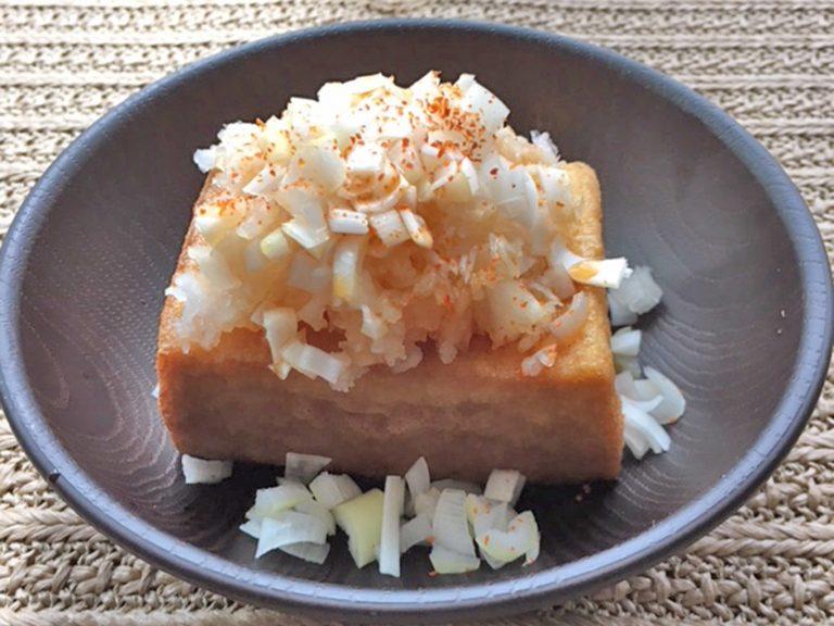 豆腐屋さん食べ歩き記/倉敷市「かじはら豆腐」厚揚げ編